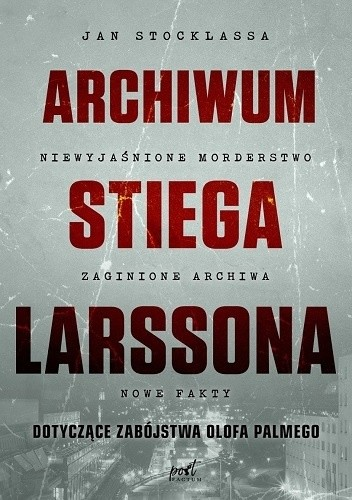 Okładka książki Archiwum Stiega Larssona
