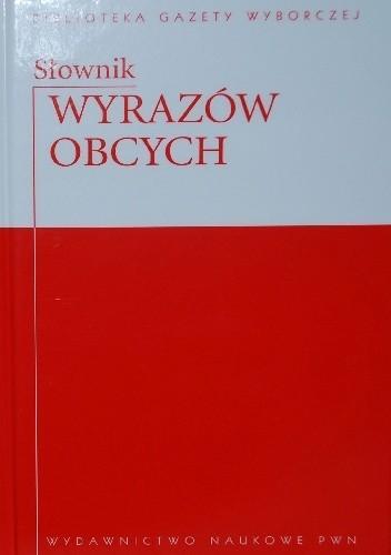 Okładka książki Słownik Wyrazów Obcych