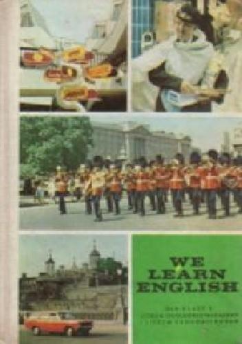 Okładka książki We Learn English (II)