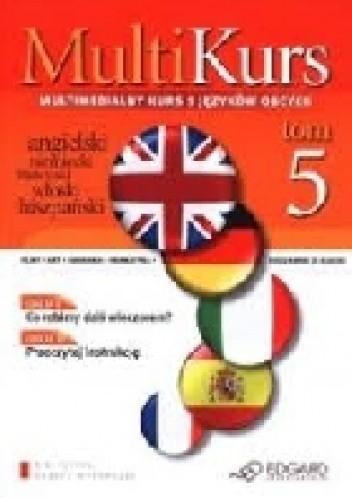 Okładka książki Multikurs. Multimedialny kurs 5 języków obcych (Tom 5)