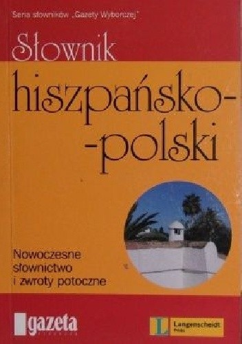 Okładka książki Słownik hiszpańsko - polski