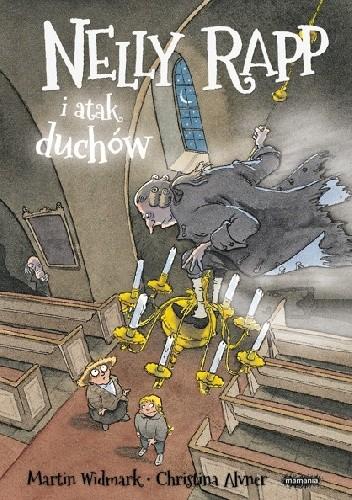 Okładka książki Nelly Rapp i atak duchów