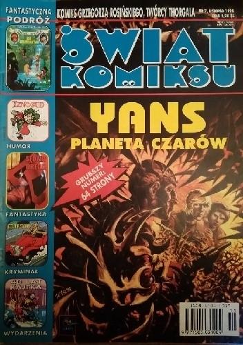 Okładka książki Świat Komiksu #07 (listopad 1998)