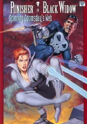 Okładka książki Punisher & Black Widow- Spinning Doomsday's Web