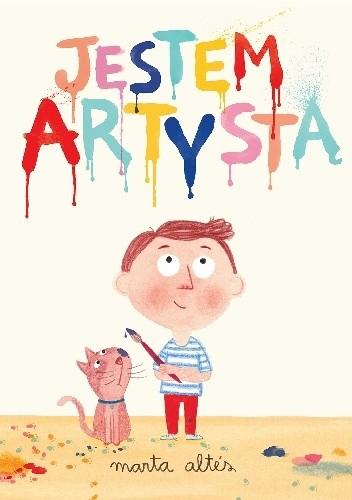 Okładka książki Jestem artystą