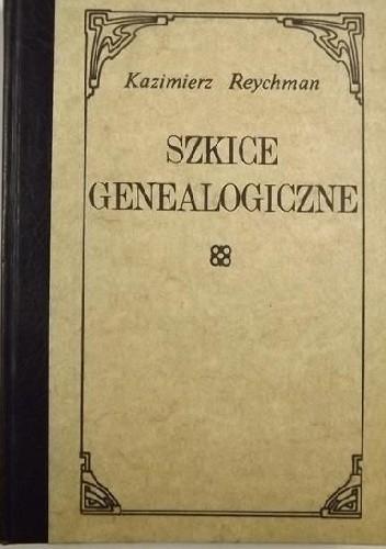 Okładka książki Szkice genealogiczne