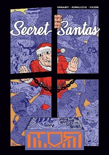 Okładka książki Secret Santas