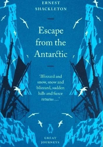 Okładka książki Escape from the Antarctic
