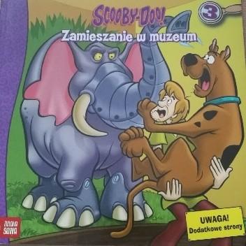 Okładka książki Scooby-Doo! Zamieszanie w muzeum