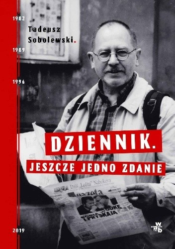 Okładka książki Dziennik. Jeszcze jedno zdanie