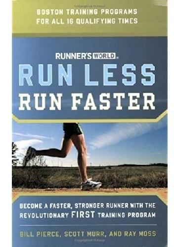 Okładka książki Run Less, Run Faster