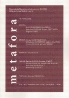 "Kwartalnik literacko-artystyczny ""Metafora"" 25 (106)"