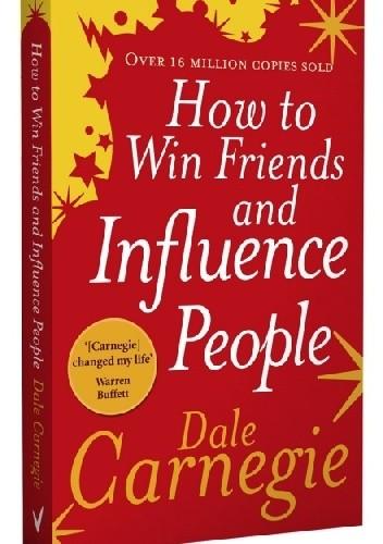 Okładka książki How to win friends and influence people