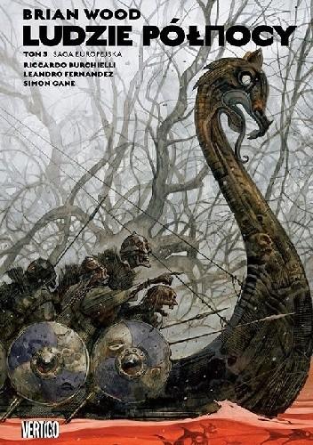 Okładka książki Ludzie północy. Tom 3. Saga europejska