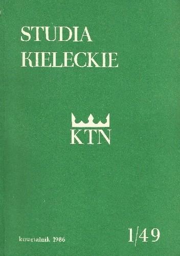 Okładka książki Studia Kieleckie 1/49