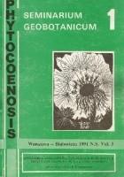 Phytocoenosis vol. 3. Seminarium Geobotanicum 1. Dynamika roślinności i populacji roślinnych