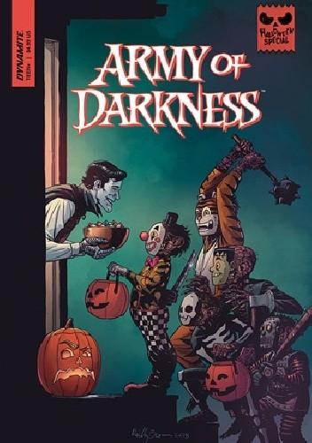 Okładka książki Army of Darkness Halloween Special