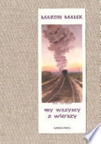 Okładka książki My wszyscy z wierszy