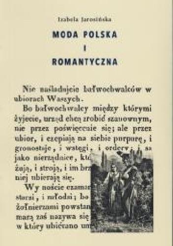 Okładka książki Moda polska i romantyczna