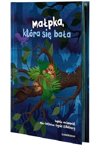 Okładka książki Małpka, która się bała
