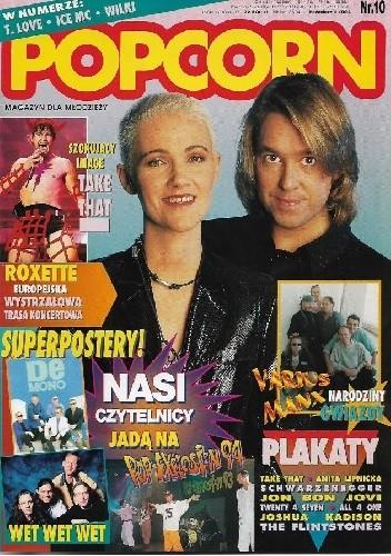 Okładka książki Popcorn 10/1994