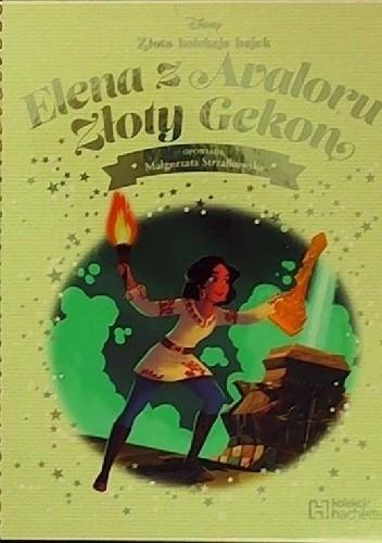 Okładka książki Elena z Avaloru Złoty Gekon
