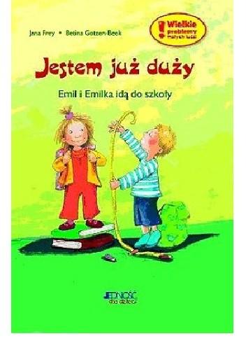 Okładka książki Emil i Emilka idą do szkoły