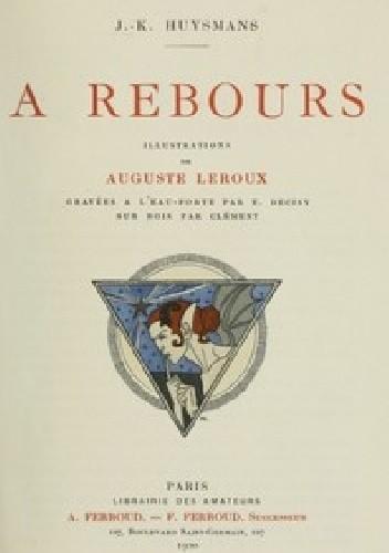 Okładka książki À rebours