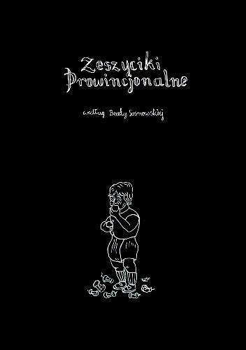 Okładka książki Zeszyciki Prowincjonalne według Beaty Sosnowskiej