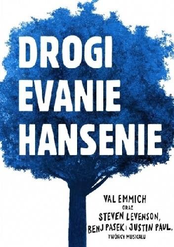 Okładka książki Drogi Evanie Hansenie