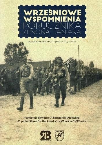 Okładka książki Wrześniowe wspomnienia porucznika Zenona Janiaka