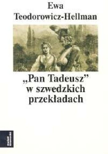 """Okładka książki """"Pan Tadeusz"""" w szwedzkich przekładach"""