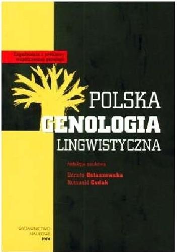 Okładka książki Polska genologia lingwistyczna