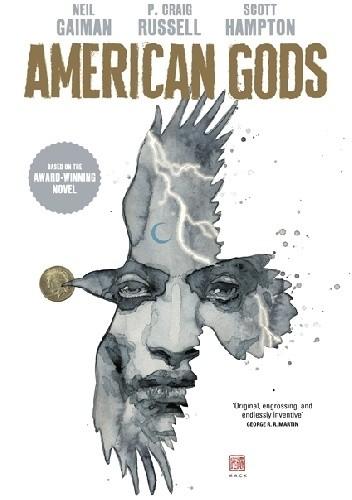 Okładka książki American Gods: Shadows