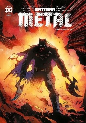 Okładka książki Batman - Metal: Mroczne dni