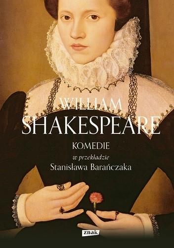 Okładka książki KOMEDIE w przekładzie Stanisława Barańczaka
