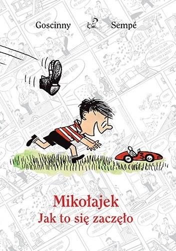 Okładka książki Mikołajek. Jak to się zaczęło