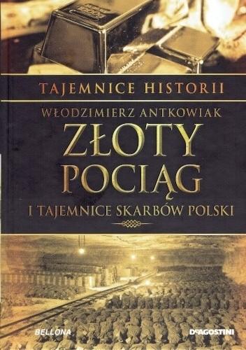 Okładka książki Tajemnice Historii #2 Złoty Pociąg