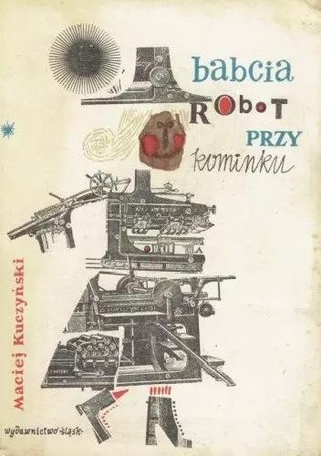 Okładka książki Babcia robot przy kominku