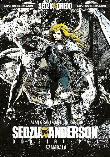 Okładka książki Sędzia Anderson: Oddział - PSI / Szambala