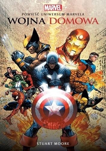 Okładka książki Wojna domowa. Powieść Uniwersum Marvela