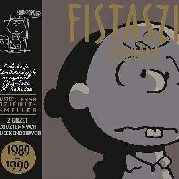 Okładka książki Fistaszki zebrane 1989 - 1990