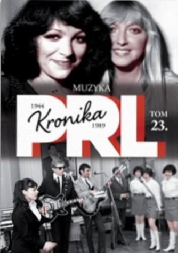 Okładka książki Kronika PRL. Muzyka