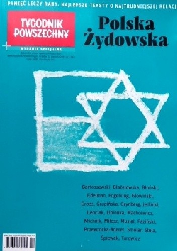 Okładka książki Tygodnik Powszechny. Wydanie specjalne nr 1/2019. Polska Żydowska