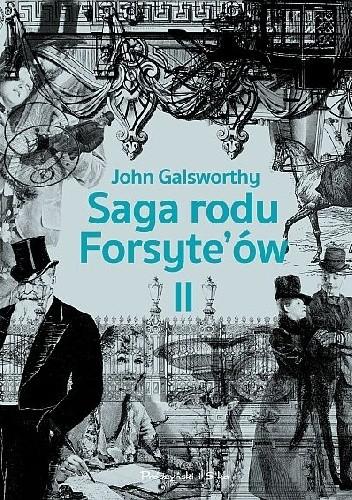 Okładka książki Babie lato jednego z Forsyte'ów. W matni