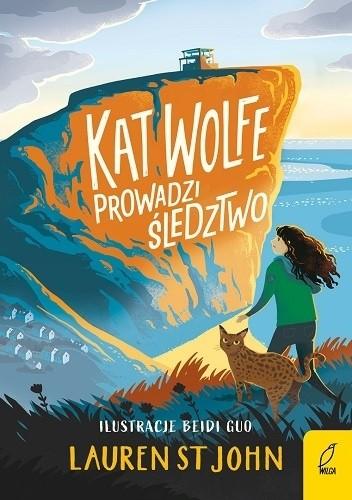 Okładka książki Kat Wolfe prowadzi śledztwo