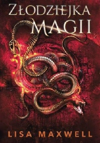 Okładka książki Złodziejka magii