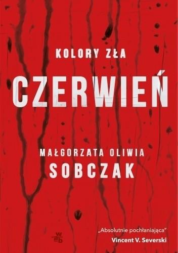 Okładka książki Kolory zła. Czerwień
