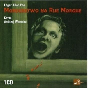Okładka książki Morderstwo na Rue Morgue