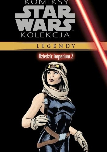 Okładka książki Star Wars: Dziedzic Imperium #2